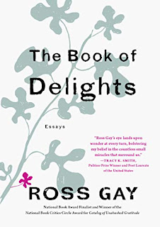 Book Review and GIVEAWAY - The Book of Delights: Essays, by Ross Gay {ends 5/13}