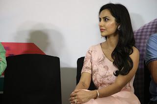 Actress Priya Anand At LKG Movie Success Meet Photos