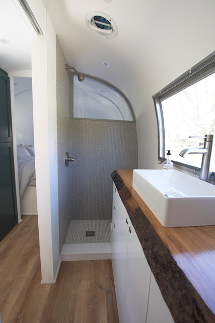 remodelled Airstream trailer