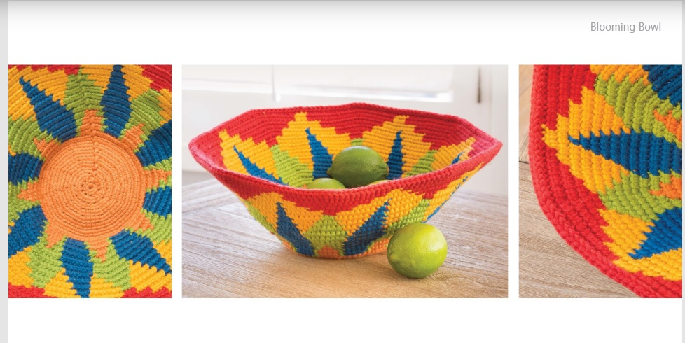 Blooming Bowl Crochet Pattern