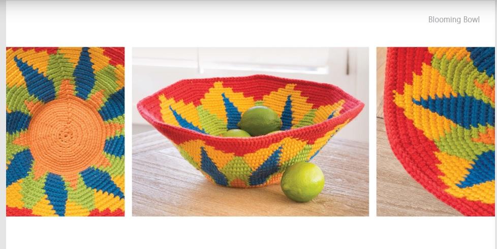 Blooming Bowl Crochet Pattern