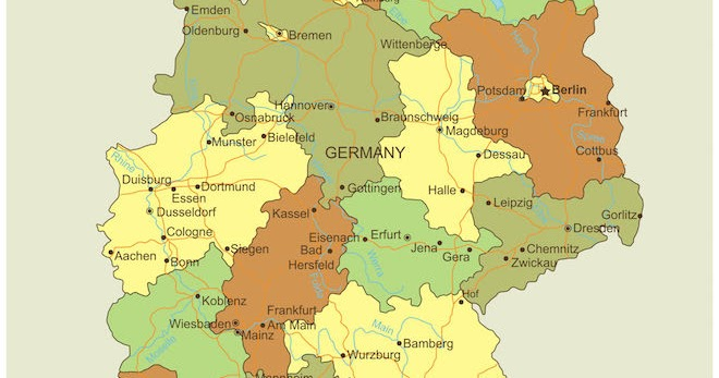 German Wine Regions And History Grapes Grains - Germany map jena