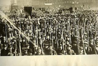 Guardia Roja Petrogrado 1917
