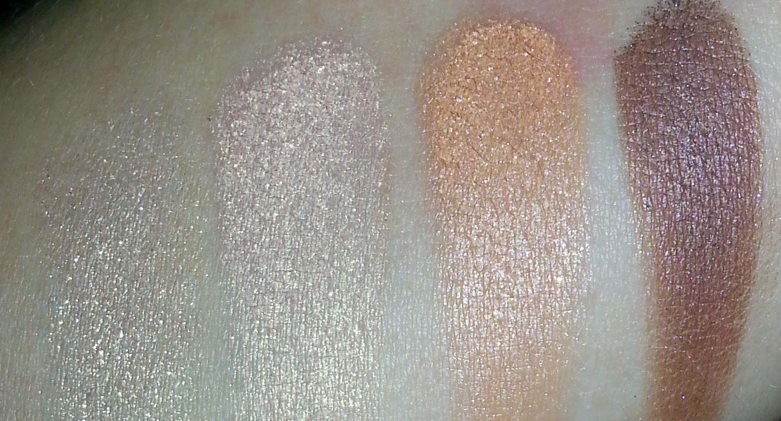 Missha Signature Velvet Art Shadow Quad Swatch