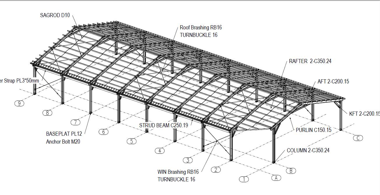 kursus tekla struktur area bekasi dan tambun