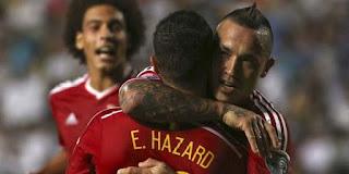 Hazard Sambut Nainggolan di Chelsea