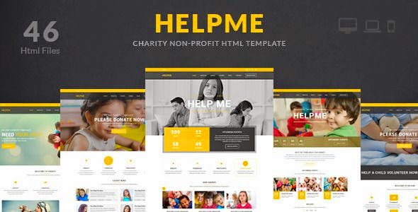 Best Responsive Charity HTML Template