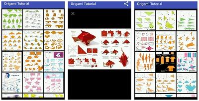 cara membuat origami dengan hp android