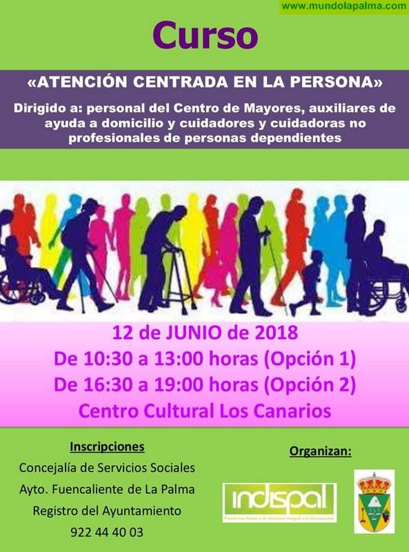 Curso de atención centrada en la persona en Fuencaliente