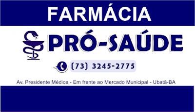 Resultado de imagem para farmácia pro saude ubatã