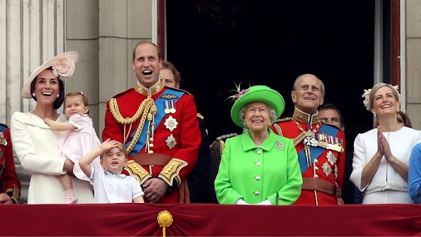 Prince George accompanied his sister on her debut royal balcony appearance last month