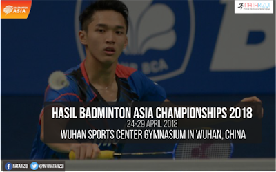Hasil Badminton Asia Championships 2018