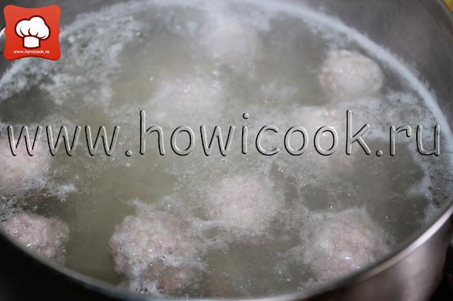 суп с фрикадельками с пошаговыми фото
