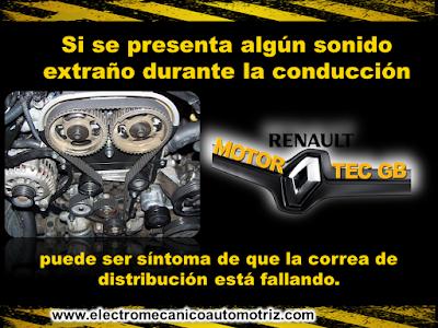 Cambio de Correa de Distribucion Renault