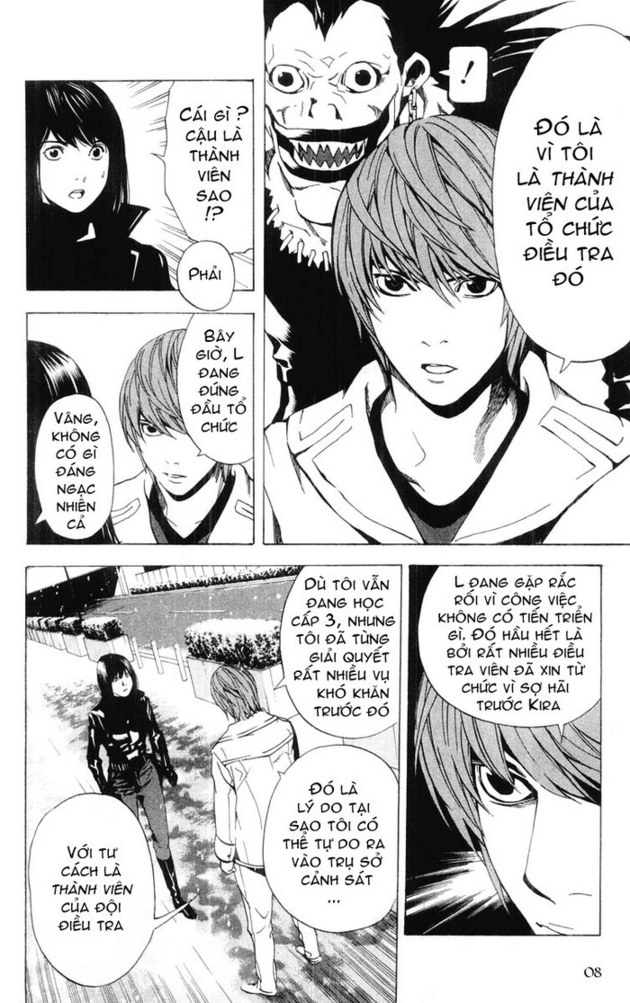 Death Note chapter 014 trang 9