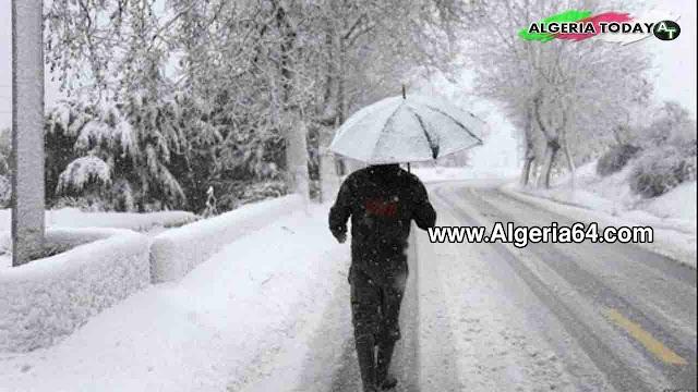 عاجل : تواصل سقوط الثلوج إلى غاية يوم الجمعة في 19 ولاية