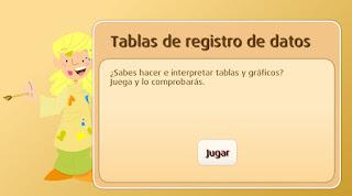 TABLAS DE REGISTRO DE DATOS