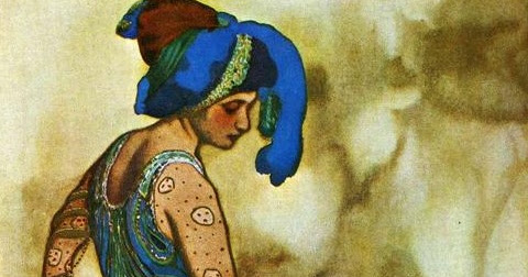 The Russian painter and scene- and costume designer Léon Bakst