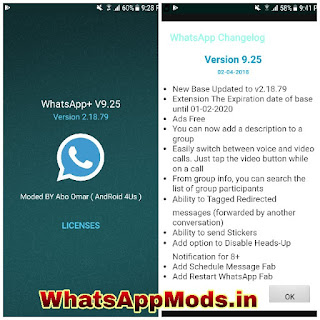 NOWhatsApp v9.25 WhatsAppMods.in