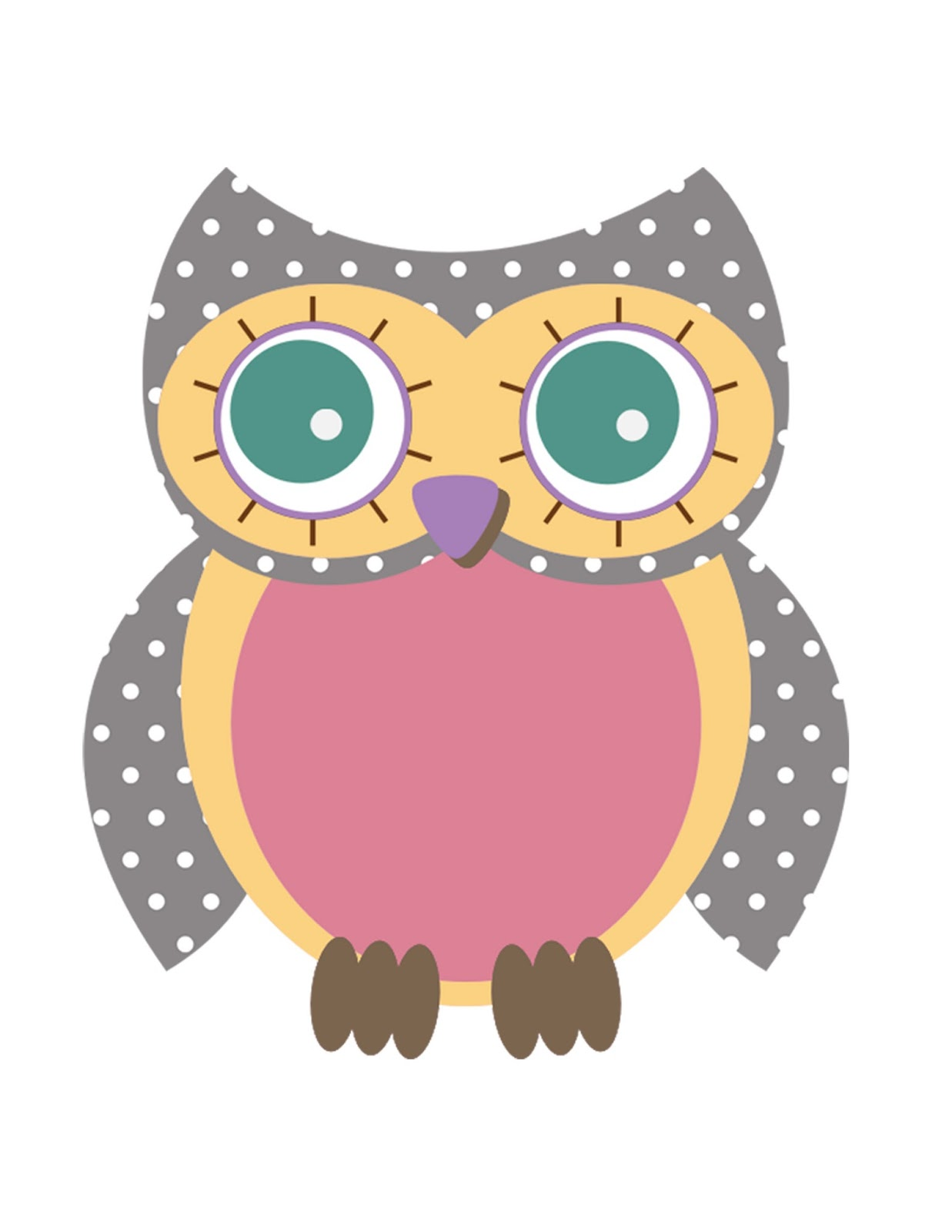 Owl Template Printable