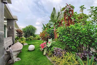 Jasa Tukang Taman Surabaya Taman Gaya Mediterania