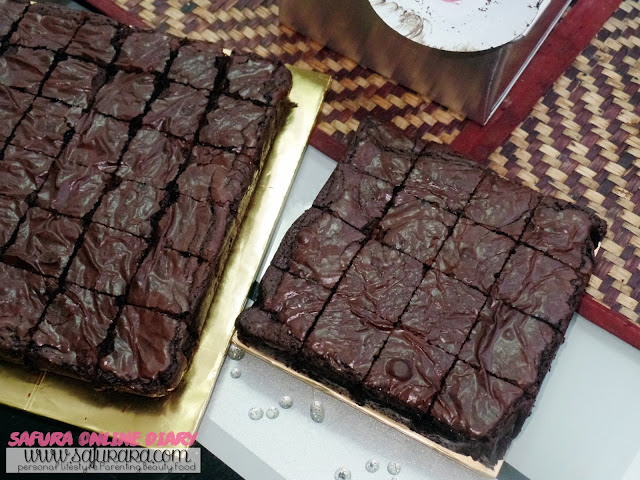 tempahan brownies kedut KL