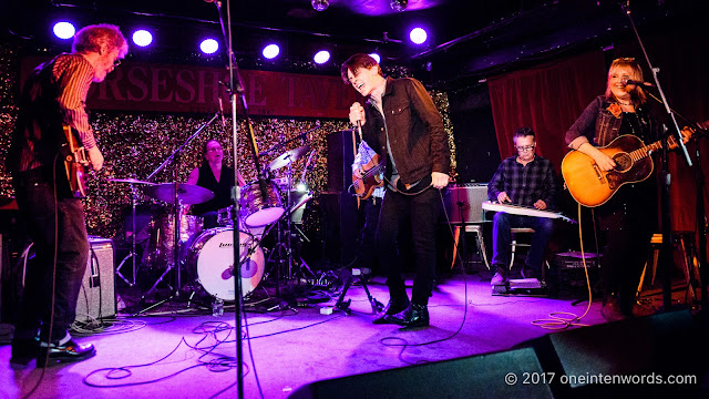 Peter Dreimanis of July Talk with Hey Stella at The Horseshoe Tavern 70th Anniversary Party at The Legendary Horseshoe Tavern on December 5, 2017 Photo by John at One In Ten Words oneintenwords.com toronto indie alternative live music blog concert photography pictures photos
