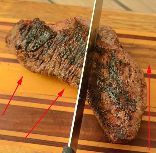 How to slice a tri-tip roast, slicing tri tip