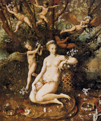 Мастер Флоры (раб.1555-1570) - Триумф Флоры
