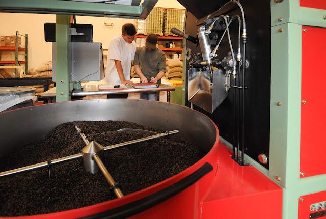 coffee warehouse roaster