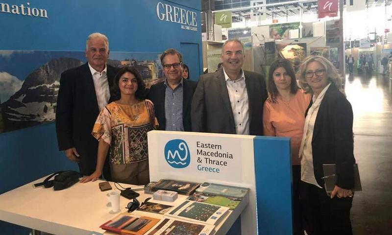 Επιτυχημένη η συμμετοχή της Περιφέρειας ΑΜ-Θ στην Έκθεση Εναλλακτικού Τουρισμού TourNatur στη Γερμανία