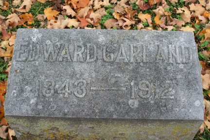 Abt Unk Tombstone Tuesday Edward Garland 1843 1912 Editor Of The