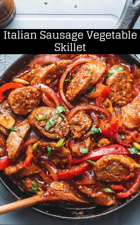 Italian Sausage Vegetable Skillet