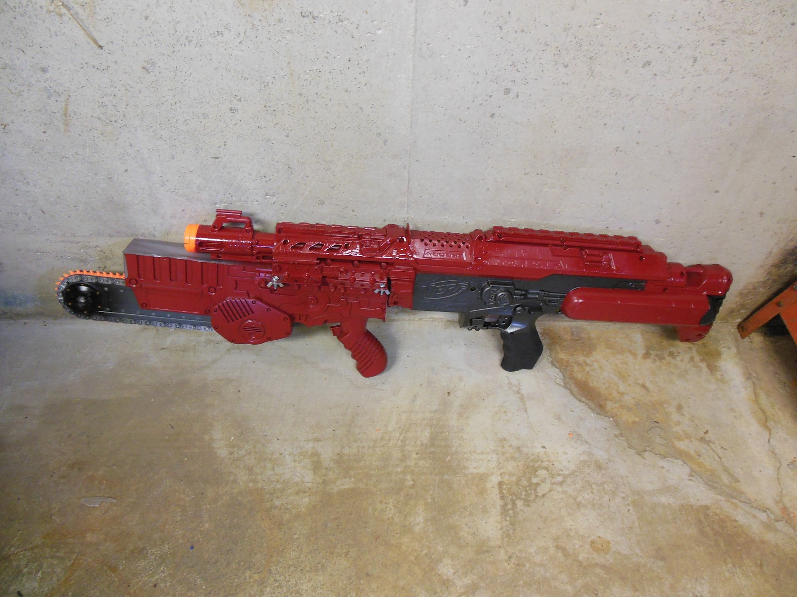 Lasagna678 Nerf Mods Stampede With Interchangeable