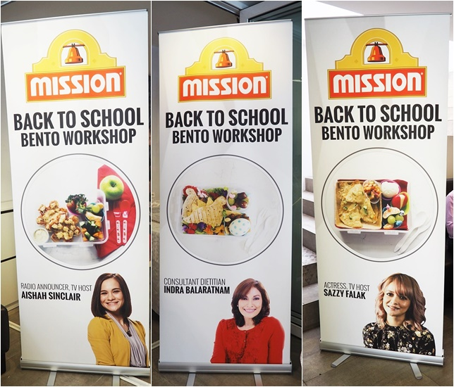 Moms On A Mission For Healthier Bentos With Mission Food Back-To-School Bento Workshop