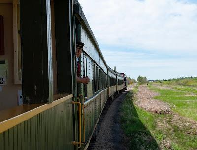 Alberta Prairie Railway Excursion, Stettler, Alberta