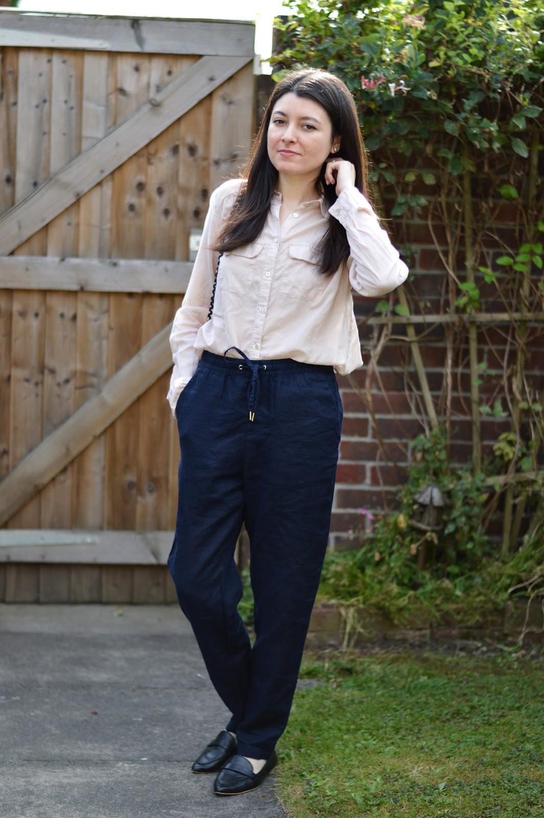 H&M Linen Trousers
