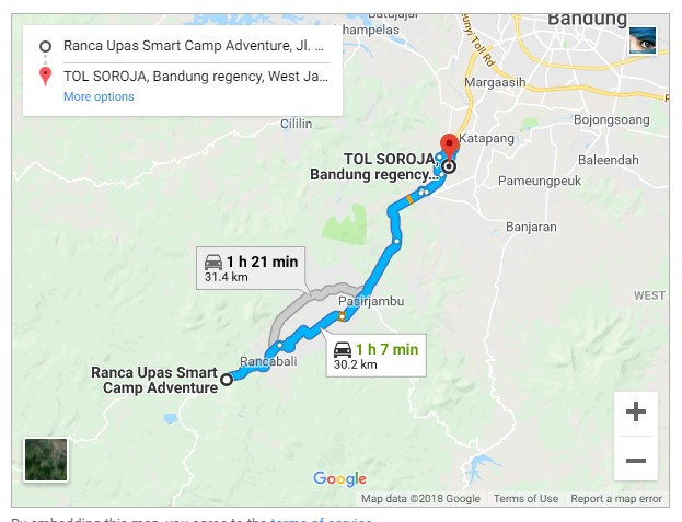 Rute Ranca Upas | Booking Call 081323739973