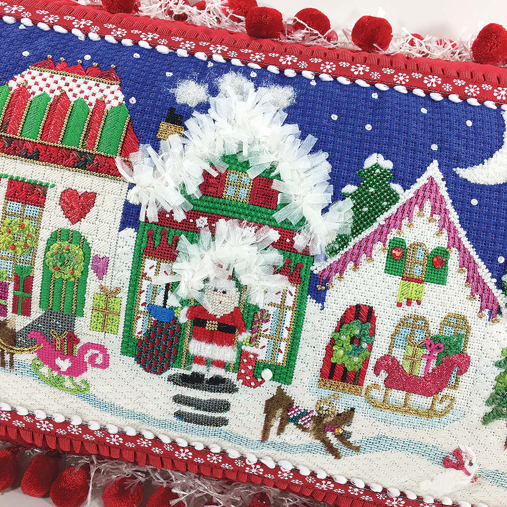 It\'s snowing at the North Pole - - Bedecked and Beadazzled