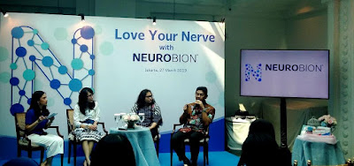 acara media briefing Love your Nerve
