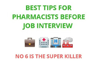 Best killer tips for pharmacist before interview