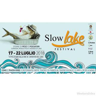 Slow Lake Festival dal 17 al 22 luglio Como