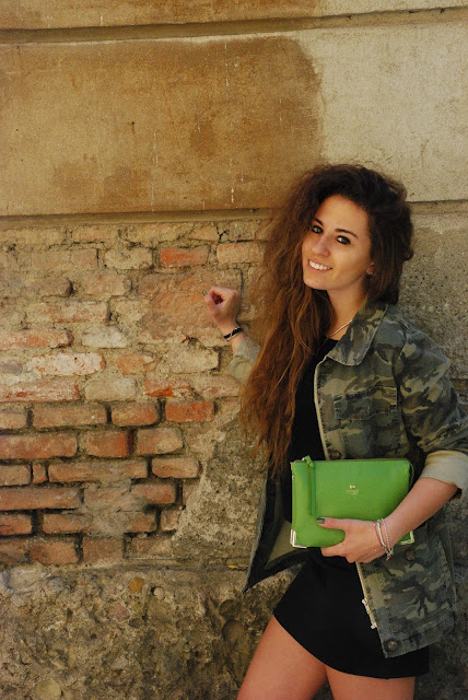 una giornata di sole e verde dappertutto, borsa mosh california, mosh california bags, valentina rago, valentina rago fashion need, fashion need, fashion blog italia, valentina rago, valentina rago blog, green everything, green outfit, fashion blogger outfit spring, outfit per la primvera