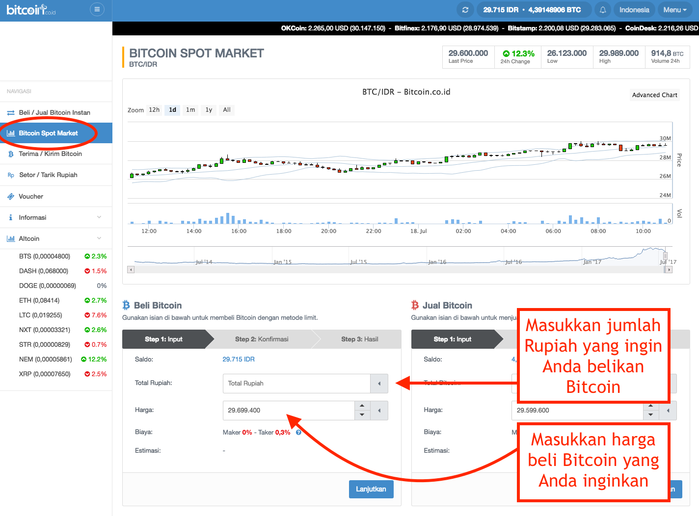 Trading,jual,beli,bitcoin