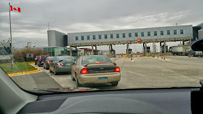 Road Trip Road Trip - Canada Border Crossing
