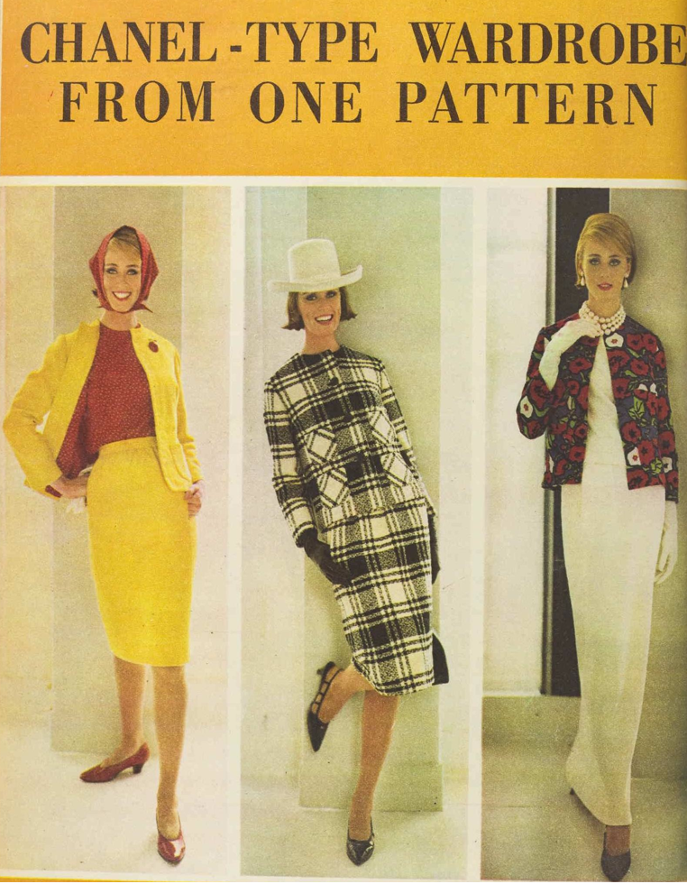 e2c0a17a25cd In 1964 Butterick released a pattern with 6-in-one options to make your own  (unfortunately there isn t any internet source of the original pattern or  ...