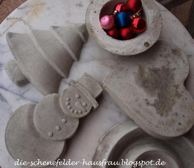 Die schenefelder hausfrau rums mit beton for Neue gartendeko aus beton