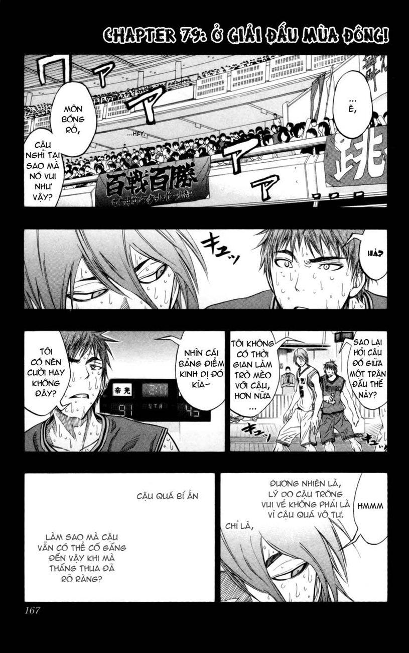 Kuroko No Basket chap 079 trang 1