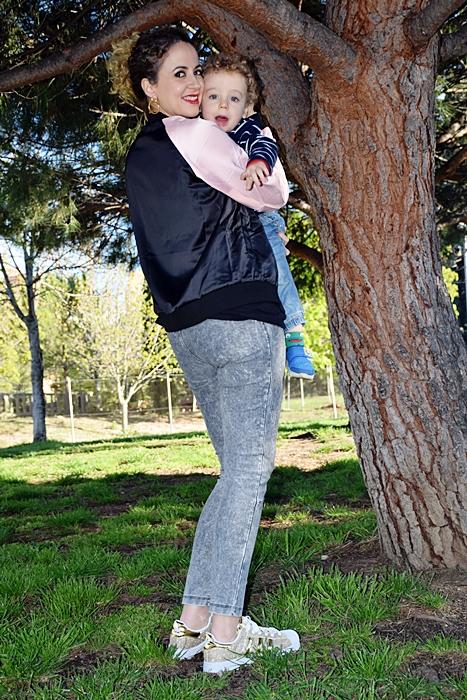 Outfit-cazadora-bicolor-parches-3