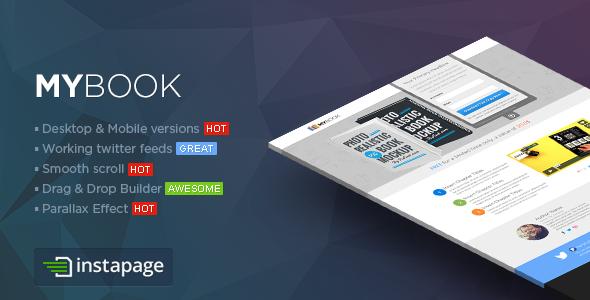 Responsive ebook Landing Page